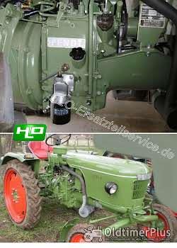 Wesseler Rietscher Fendt Ölfilterumbausatz für Motor MWM AKD... und KD... Foto 2