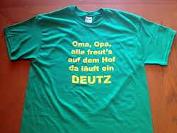 Fan-Artikel Deutz T-Shirt
