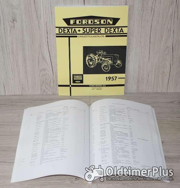 Fordson Ersatzteilkatalog Dexta + Super Dexta ab 1957 Foto 1