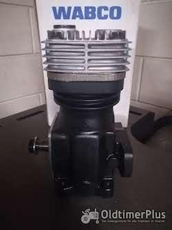 Wabco Kompressor mit antrieb Schlüter MB-trac Unimog Original Wabco Kompressor mit antrieb für Lenkungspumpe Foto 6