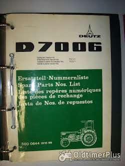 D 15.1 - D 8006 Ersatzteil-Nummernliste für Deutz-Schlepper   Foto 3