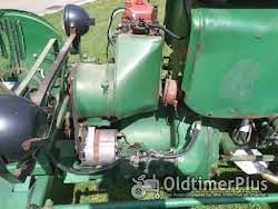 Güldner Oldtimer Traktor A Baureihe mit Mähwerk Foto 5