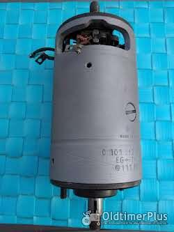 Bosch 6 volt Gleichstrom Lichtmaschine 90 mm   generalüberholt Foto 3