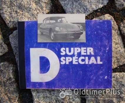 Betriebsanleitung Citroen D Super D Special ID / DS 1971 Foto 1