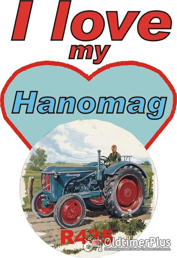 I love Hanomag R 435  T-Shirt Foto 1
