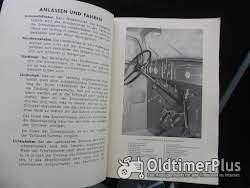 Betriebsanleitung Opel Modelle 1935 Foto 2
