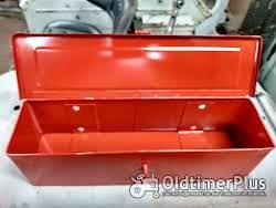 gereedschapbakje tractor universeel rood Foto 4