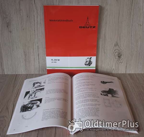 Deutz Werkstatthandbuch Motor F1L511 - F2L511 – F1L511W – F2L511W Foto 1