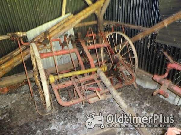Oldtimer - Gabelwender Foto 1