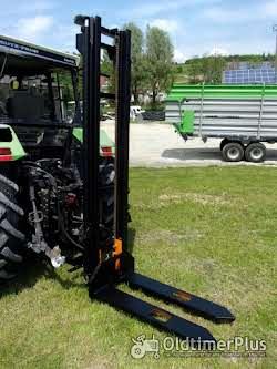 Jungheinrich Hubmast für Traktoranbau, Heckstapler, Anbaustapler, Staplerhubmast Foto 12