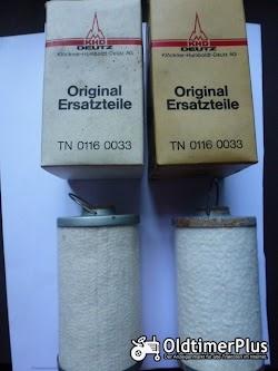 Deutz  01160033 2x Kraftstofffilter für Deutz - Case IHC - Fendt - John Deere u.a. Foto 2