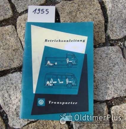 Betriebsanleitung VW Transporter Bus 1955 T1 30 PS Foto 1