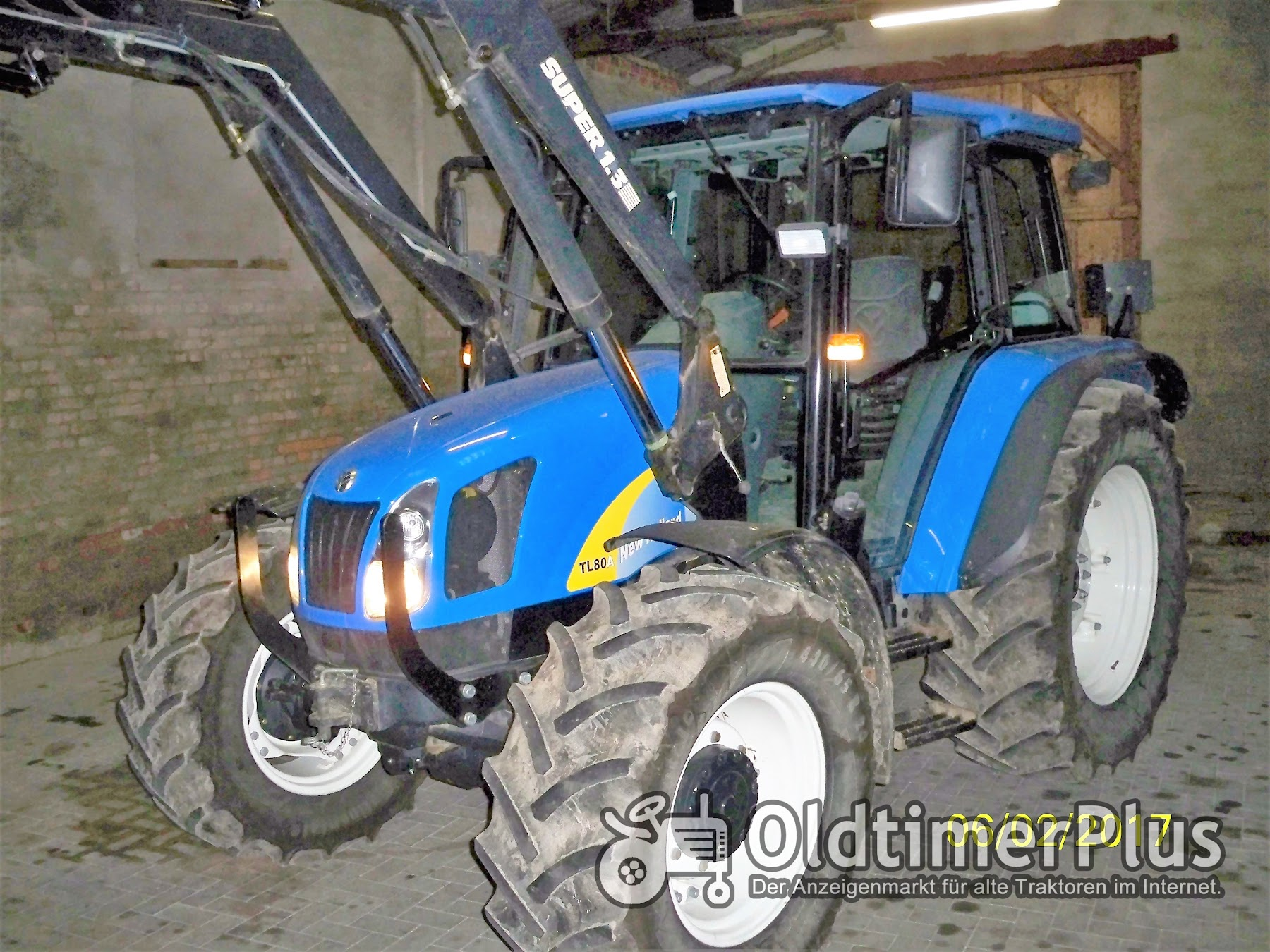 Sonstige New Holland TL 80 A