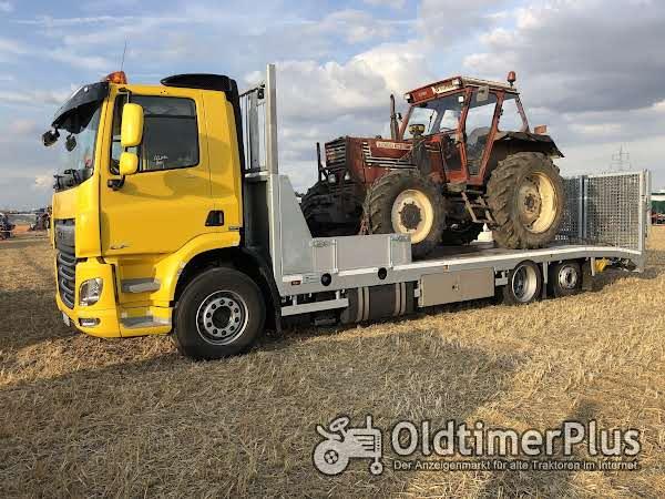 Schleppertransporte Bulldogtransporte Lanz,Eicher,Deutz,Hanomag,Fiat Foto 1