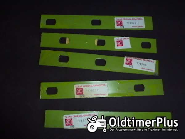 Claas Compact 30 16 Stück Messerführungsunterlage 778206 Foto 1