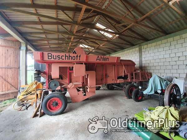 Dreschmaschine Buschhoff Foto 1