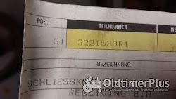CASE IH Türriegel links Comfort-Kabiene 2000 (3221533R1) NEU !!! Foto 2