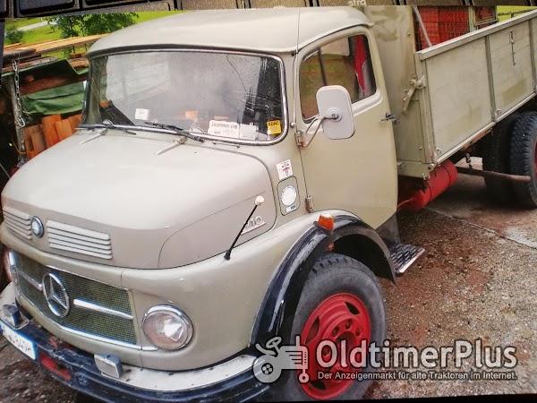 Daimler-benz-lk710-kipper Foto 1