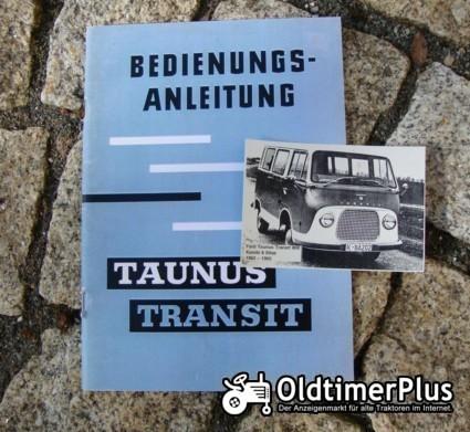 Betriebsanleitung Ford Transit I 1961 Taunus Transit Foto 1