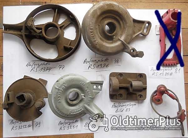 Rasspe Mähwerk, Fingerbalkenmähwerk, Ersatzteile, Teile, Sortiment D+E Foto 1