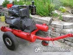 Deutz F2L 713 Motor auf Fahrgestell Foto 2