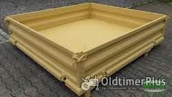 Unimog 425 437 Kipppritsche mit Bordwänden Pritsche Brücke Ladefläche