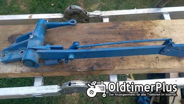 Hanomag Handbremshebel komplett R435, R324 und andere Foto 1