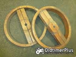 Sonstige Flachriemenscheibe aus Holz