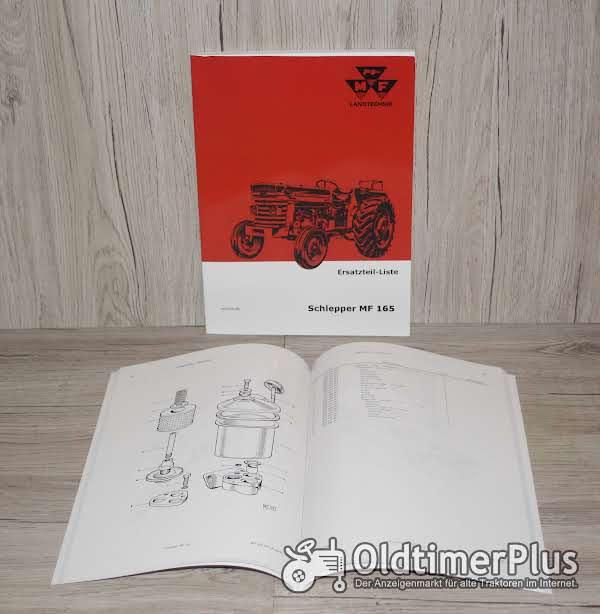 Massey Ferguson Ersatzteilliste Traktor MF165 Foto 1