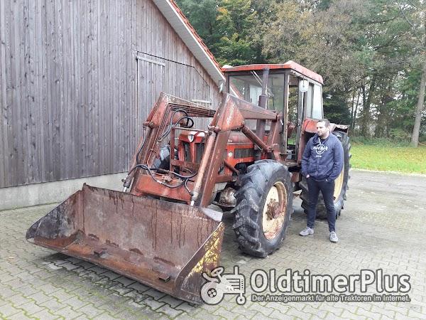 Schlüter Super 1250 mit Frontlader Foto 1