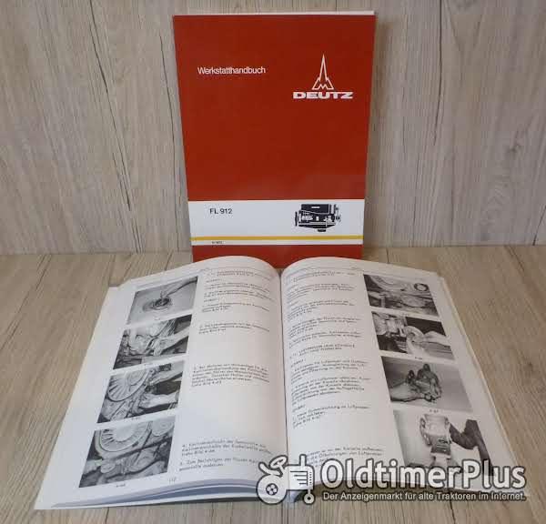 Werkstatthandbuch Deutz Dieselmotor FL912 FL 912 Foto 1