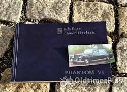 Literatur Betriebsanleitung Rolls Royce Phantom VI 1978