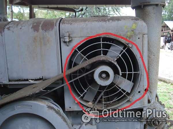 HSCS 30-35 Schlepper: Wasserpumpe & Fan und 4 Kühler, Zylinderkopf (Kein Lanz) Foto 1