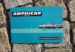 Literatur Betriebsanleitung Amphicar 770 1961