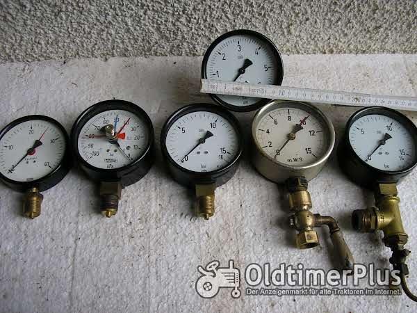 Druckmanometer Foto 1