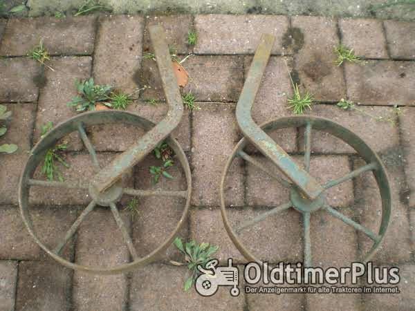 Holder cultivator wielen voor Holder cultivator Foto 1