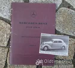 Literatur Betriebsanleitung Mercedes W136 170 S 1950