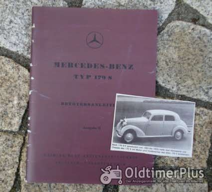 Betriebsanleitung Mercedes W136 170 S 1950 Foto 1