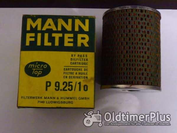 MANN 9.25/1o Ölfilter- Nebenstrom Lanz 300 Foto 1