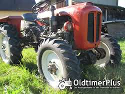 Nuffield Field Boy R 300 DT Allrad, HURTH Allrad-Vorderachse