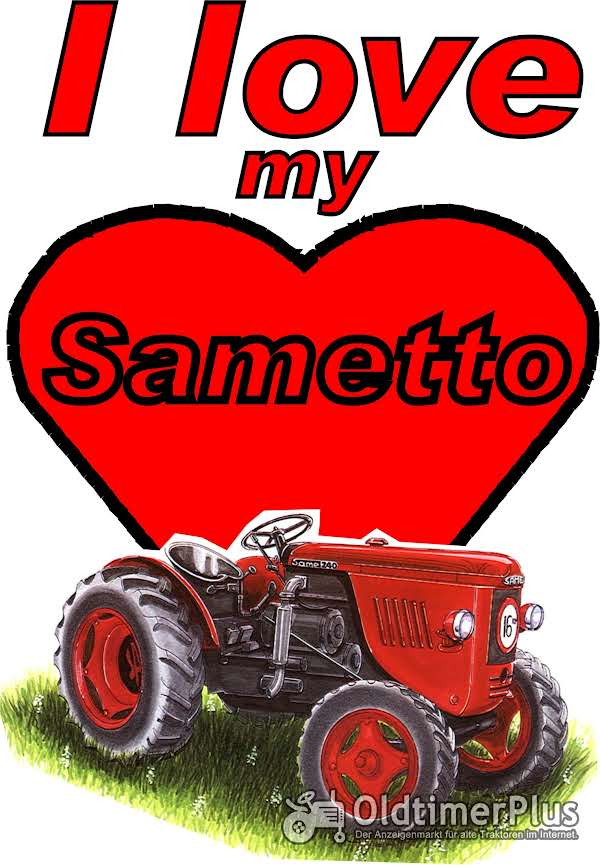 I love Same Sametto  T-Shirt Foto 1