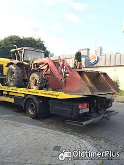 Transporte Überführungen Rückholdienst Einzeltransporte Eiltransport Trecker Traktor Eicher Foto 2