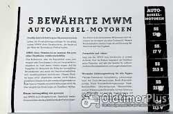 Opel Büssing Hanomag Saurer Mulag Krupp MAN Hansa-Loyd Magirus Dürkop Diesel Motor 1939 neu Foto 3