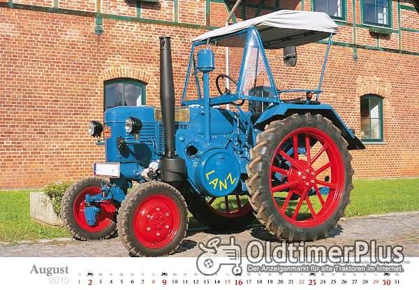 LANZ Lanz Bulldog D5506 Seitenglühkopf Foto 1