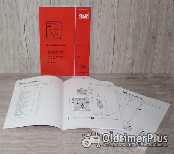 Deutz Fahr Stromlaufplan Traktor DX 4.10 – DX 4.70 , DX 6.10 – DX 6.50 , DX 7.10 Foto 1