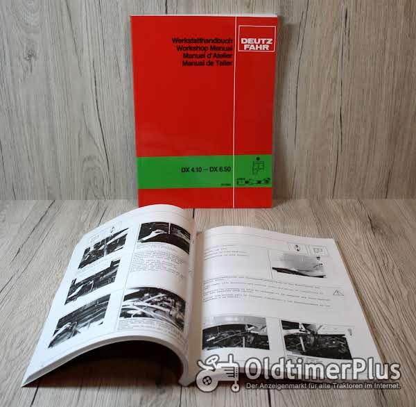 Deutz Fahr Werkstatthandbuch Trennen der Kabine DX4.10 – DX6.50 Foto 1