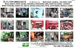 Porsche Diesel Master Super Standard Junior Allgaier Ölfilter Umbausatz Adapter Foto 5
