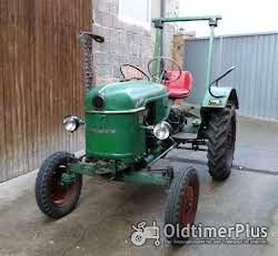 Deutz Deutz D 15 Schlepper/Oldtimer; Bj 1960; Hydraulik; Mähbalken Foto 2