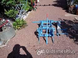 Handlift - Hefinrichting & Ploeg Voor Oldtimer Tractor Foto 2