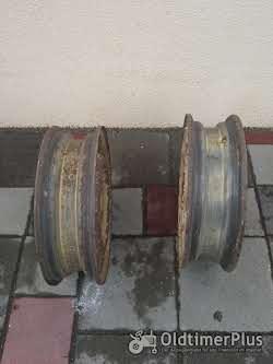 Keine Angaben Zwei Stück Vierloch Felgen Lochabstand 9 cm, Lochkreis 8,5 cm!! Foto 3